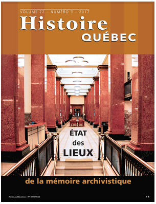 Revue Histoire Québec – Article sur l'AAQ